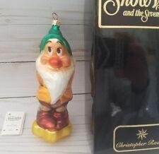 Vintage Christopher Radko Snow White and Seven Dwarfs ornament Bashful