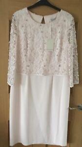 Gina Bacconi Pale Pink Dress BNWT Size 16