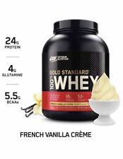 Optimum Nutrition Gold Standard Whey Protein Powder - 5Lb, French Vanilla Cream