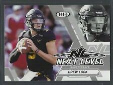 Drew Lock 2019 Sage Hit Premier Draft NEXT LEVEL SILVER parallel Missouri Tigers