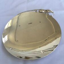 Reed & Barton Sterling Silver Vintage Art Nouveau Plates SET OF FOUR Fabulous