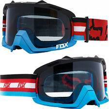 FOX AIR DEFENCE MOTOCROSS MX GOGGLES SECA RED / CLEAR tear-off
