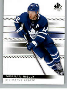 2019-20 SP Authentic #5 Morgan Rielly - Toronto Maple Leafs