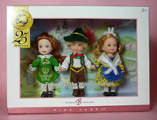 KELLY FRIENDS OF WORLD -EUROPE - GIFT SET #2 -IRELAND, GERMANY, FRANCE-2004-NRFB
