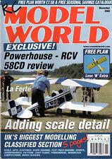 "FREE PLAN DRAWING LESS 'n EXTRA 36"" PLAN Drawing - RC MODEL WORLD November 2002"