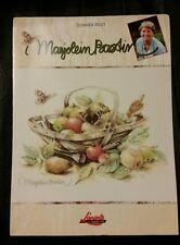 Cross Stitch Pattern ~ Lanarte / Marjolein Bastin Summer Fruit Basket #34261