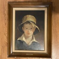 The Torn Hat, 1820 by Thomas Sully Framed