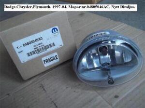 Dodge.Chrysler, Plymouth. 1997-04 New fog light. Mopar No..04805046AC
