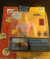 Simpsons RAINER WOLFCASTLE World of Springfield Series 11 Playmates