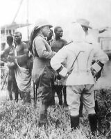 PRESIDENT THEODORE ROOSEVELT IN AFRICA 1910 8x10 SILVER HALIDE PHOTO PRINT