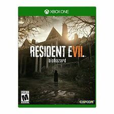 Resident Evil 7 Biohazard USED SEALED (Microsoft Xbox One, 2017)