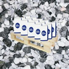 (0,42€/1kg) 20 x 25kg Sack Marmorsplitt Icy Mix 8-16 mm Garten Splitt Kies Marmo
