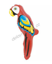 Inflatable Parrot 60cm Luau Hawaiian Pirate Jungle Beach Party Supplies Blow Up