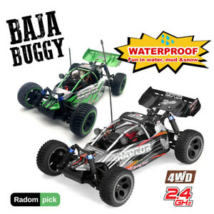 FS Raptor Racing 1/10 4WD 2.4GHz RC Brushless Remote Buggy RTR LED Waterproof