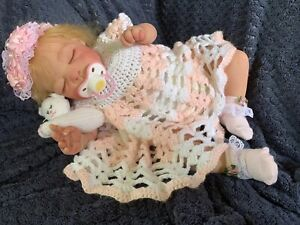 Sweet Reborn Baby GIRL Doll And Then There Was You Alicia Toner COMPLETED baby