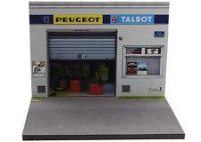 Diorama présentoir Peugeot Talbot - 1/43ème - #43-2-A-A-089