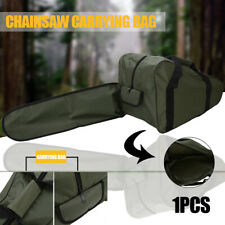 """20"""" Inch Chainsaw Chain Saw Carrying Bag Case Protective Holdall Holder Box"""