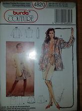 Burda Couture 4820 Jacket Blouse skirt shorts Size 10-20 sewing pattern