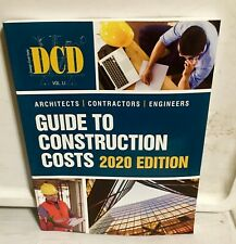 2020 - DCD Guide to Construction Costs - 2020 EDITION - Brand New - NEW -