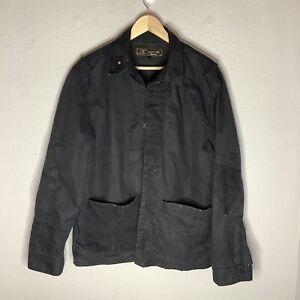 Barbour Dept B Mens Smart Casual Black Hunting Sporting Style Jacket Size Large