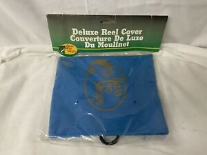 Bass Pro Shops Brand Deluxe Reel Cover Blue - Brand New Sealed