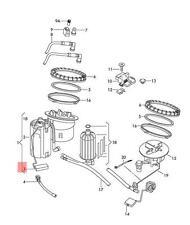 Genuine Fuel Gauge Sensor Front AUDI A4 allroad quattro S4 8K0919673