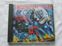 "IRON MAIDEN-"" THE NUMBER OF THE BEAST"" CD NO IFPI"