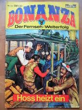 BONANZA Nr. 64 Hoss heizt ein --- Bastei Verlag