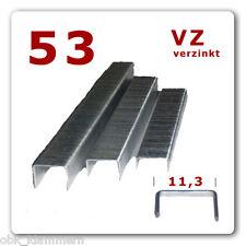 Typ 53/ 6mm - 5.000 Stck Heftklammern * Tackerklammern * Klammer * TOP Qualität