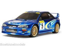 Tamiya 58631 Subaru Impreza Monte-Carlo RC Kit - DEAL BUNDLE w/ STEERWHEEL Radio