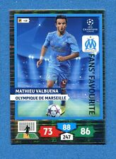 CHAMPIONS 2013-2014 -Adrenalyn Panini- Card FANS FAVOURITE - VALBUENA -MARSEILLE