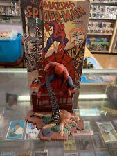 Aurora Model Build Up 1974 Spiderman Spider-Man Comic Scene Original Rare Piece