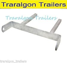 "Boat Trailer 12"" 300mm twin stem keel, multi Roller Bracket galvanised gal G169"
