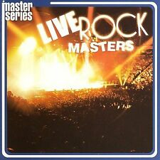 Live Rock Masters [Remaster] - Various Artists -DUAL DISC CD & DVD-NEW