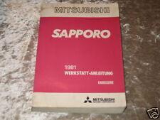 Werkstatthandbuch Mitsubishi Sapporo, Stand 1981