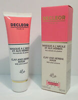 DECLEOR - CLAY & HERBAL MASK TREATMENT - 2 x 50ml - BOXED & SEALED - 28,000 F/B*