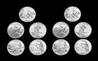 2008 P+D Hawaii Alaska Oklahoma Arizona New Mexico State Quarter Mint Roll Set