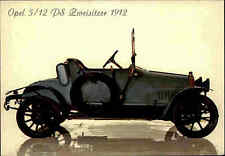 Oldtimer Fahrzeug Auto Motiv-AK OPEL 5/12 anno 1912 old Car Voiture Postcard