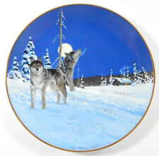 1992 Princeton Gallery On the Edge Arctic Majesty Plate Collection
