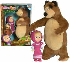 Simba Masha Minidoll Classica con Orso Plush Personaggi e Playset - Multicolore