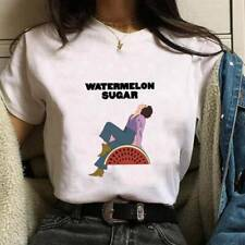 Harry Styles Watermelon Suger - Womens T-shirt Music Casual Short Sleeve Xmas