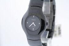 NWOT Ladies Rado Xeramo R24468722 Black Ceramic Diamond Accent Swiss Watch