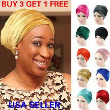 Velvet Women Turban Ladies Hair Head Hijab Cap Muslim Wrap Stretch Hat Scarf