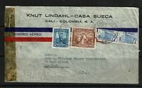 Colombia - WWII Censor Cover to USA - 091017