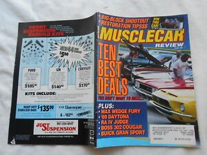 MUSCLE CAR REVIEW Magazine-OCTOBER,1991