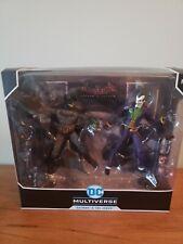 McFarlane DC Multiverse Arkham Asylum Batman and Joker 2-Pack WalMart Exclusive