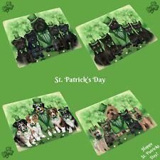 St. Patrick's Day Blanket, Dogs, Cats, Pet Sherpa Fleece Throw Blanket, Gifts