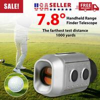 1000 Yards Digital 7x Laser Range Finder Telescope Distance Golf Rangefinder US