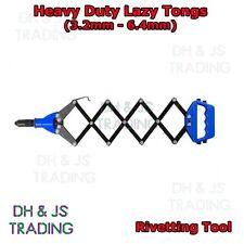 Rivet Lazy Tongs 3.2mm - 6.4mm Pop Rivet Gun Tool Tong Riv Tool HEAVY DUTY