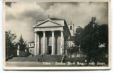 1912 Udine Basilica Beata vergine delle Grazie Guller dest. Lucca FP B/N VG ANIM